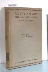 Jean Capart  Jean Capart Egyptian Art Introductory Studies