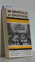 Mit Spartakus im Spartakus