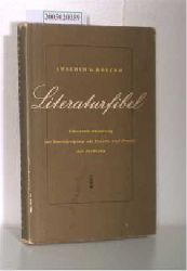 Boeckh, Joachim G.  Boeckh, Joachim G. Literaturfibel