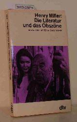"""""""Miller, Henry ; Gertz, Elmer""""  """"Miller, Henry ; Gertz, Elmer"""" Die  Literatur und das Obszöne"""
