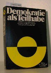 Adam, Hermann u.a.  Adam, Hermann u.a. Demokratie als Teilhabe