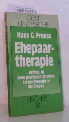 Preuss, Hans G.  Preuss, Hans G. Ehepaartherapie