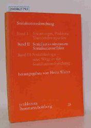 Walter, Heinz   Walter, Heinz  Sozialisationsforschung