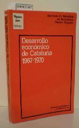 Desarrollo economico de Cataluna 1967-1970