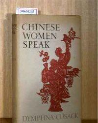 Cusack, Dymphna   Cusack, Dymphna  Chines women speak