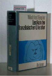Engler, Winfried   Engler, Winfried  Lexikon der französischen Literatur