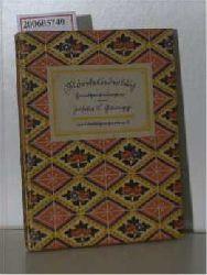 Mörikeliederbuch - Handzeichnungen von Josua Gamgg
