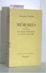Duclos, Jacques   Duclos, Jacques  Memoires 1935-1939