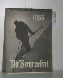 Forster, H. A.  Forster, H. A. Die Berge rufen! Wochenkalender 1955
