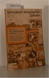 Höllerer, Walter und Miller, Norbert  Höllerer, Walter und Miller, Norbert Sprache im technischen Zeitalter