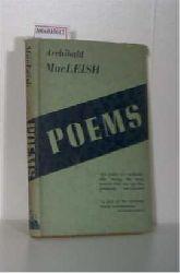 MacLeish, Archibald   MacLeish, Archibald  Poems