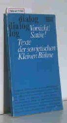 Hösch, Rudolf und Weise, Roland   Hösch, Rudolf und Weise, Roland  Vorsicht! Satire!