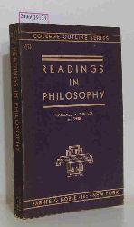 Randall / Buchler / Shirk  Randall / Buchler / Shirk Readings in Philosophy