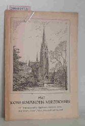 Konfirmanden -Verzeichnis 1967 der Kirchengemeinden Blankenese, Iserbrook, Lurup, Nienstedten, Osdorf, Rissen, Schenefeld und Sülldorf