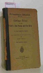 Bruno, Giordano / Lasson, Adolf   Bruno, Giordano / Lasson, Adolf  Von der Ursache, dem Princip und dem Einen