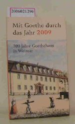 Jochen Klauß  Jochen Klauß Mit Goethe durch das Jahr 2009