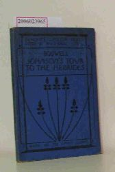 James Boswell  James Boswell The Journal of A Tour to the Hebrides with Samuel Johnson
