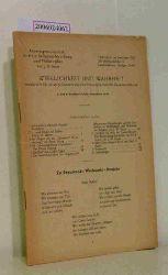 Prof. J. W. Hauer (Hg.)  Prof. J. W. Hauer (Hg.) Wirklichkeit und Wahrheit - Rundbriefe für geistige Erneuerung und lebensgesetzliche Daseinsordnung