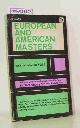 William Dean Howells   William Dean Howells  European and American Masters