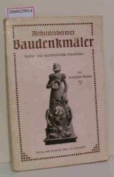 Hermann Blume   Hermann Blume  Althildesheimer Baudenkmäler