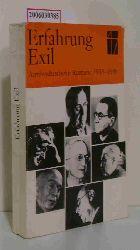 Sigrid Bock und Manfred Hahn (Hg.)  Sigrid Bock und Manfred Hahn (Hg.) Erfahrung Exil