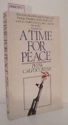 Peter Calvocoressi  Peter Calvocoressi A Time for Peace