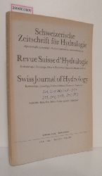 Schweizerische Zeitschrift für Hydrologie - Vol. 40 * Fasc. 1 * 1978