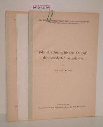 Karl Georg Mahnke   Karl Georg Mahnke  3 Hefte des Deutschen Institus für Wirtschaftsforschung (Institut für Konjunkturforschung)