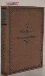 Lily Braun   Lily Braun  Die Liebesbriefe der Marquise / Madeleine Guimard