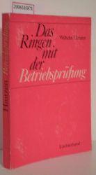 Dr. Wilhelm Hintzen   Dr. Wilhelm Hintzen  Das Ringen mit der Betriebsprüfung