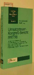 Dziadlowski / Reiß (Hg.)  Dziadlowski / Reiß (Hg.) Umsatzsteuer-Kongreß-Bericht 1997/98