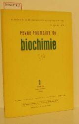 Eug. Macovschi  Eug. Macovschi revue roumaine de biochemie
