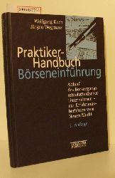 Wolfgang Koch / Jürgen Wegmann   Wolfgang Koch / Jürgen Wegmann  Praktiker-Handbuch Börseneinführung