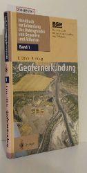 Friedrich Kühn / Bernhard Hörig   Friedrich Kühn / Bernhard Hörig  Geofernerkundung - Grundlagen und Anwendungen -