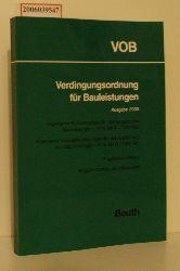 Verdingungsordnung für Bauleistungen Ausgabe 2000