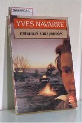Navarre, Yves  Navarre, Yves Romances sans paroles