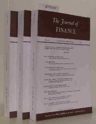 The Journal of Finance Vol. 63 - No. 1,2, und 3 - Febr., Apr. und June 2008