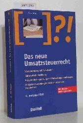 Kraeusel, Jörg  Kraeusel, Jörg Das neue Umsatzsteuerrecht 2001