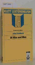 "Goodman, Michael  Goodman, Michael ""Lektürehilfen John Steinbeck """"Of mice and men"""
