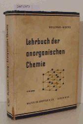 Egon Wiberg  Egon Wiberg Lehrbuch der anorganischen Chemie 37-39 verbesserte Auflage