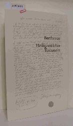 Beethoven, Ludwig van  Beethoven, Ludwig van Heiligenstädter Testament