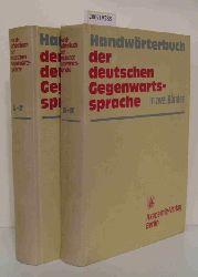 Kempcke, Günter [Mitarb.]  Kempcke, Günter [Mitarb.] Handwörterbuch der deutschen Gegenwartssprache