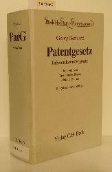 Benkard, GeorgBruchhausen, Karl [Bearb.]  Benkard, GeorgBruchhausen, Karl [Bearb.] Patentgesetz, Gebrauchsmustergesetz