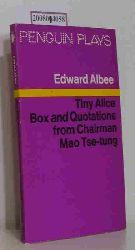 Edward Albee  Edward Albee Tiny Alice, box and Quotations from Chairman Mao Tse-Tung