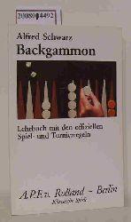 Schwarz, Alfred  Schwarz, Alfred Backgammon