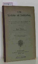 Nowack, Hugo  Nowack, Hugo Deutsche Sprachlehre und Rechtschreibung