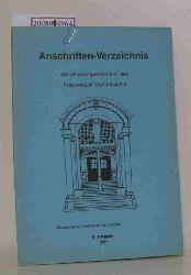 Friedenauer Gymnasium  Friedenauer Gymnasium Anschriftenverzeichnis der ehemaligen Schüler des FG