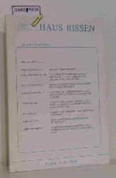 Haus Rissen   Haus Rissen  Haus Rissen, Rissener Rundbrief 6 / Juni - 7 / Juli 1994