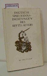 """""""Hecht, Gretel; Hecht, Wolfgang""""  """"Hecht, Gretel; Hecht, Wolfgang"""" Deutsche Spielmannsdichtungen des Mittelalters"""