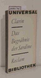Clarin  Clarin Das  Begräbnis der Sardine